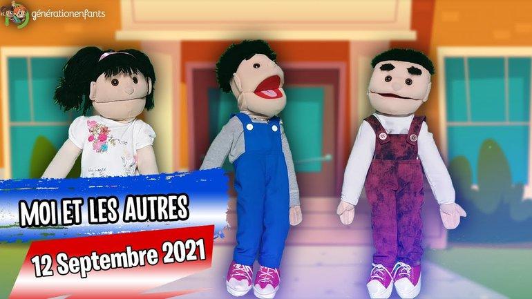 """Culte Génération Enfants du 12 septembre 2021 """"Moi et les autres"""""""