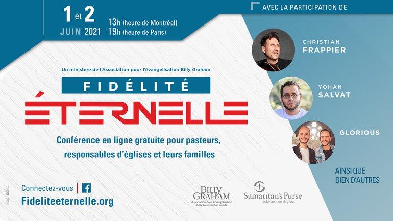 CONFERENCE EN LIGNE 🔥 Fidélité éternelle les 1 et 2 juin prochains !