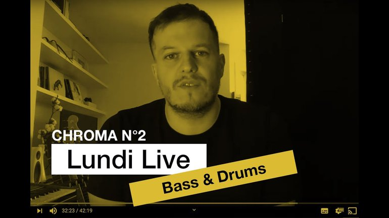 Bass & Drums Producing : Lundi Live No. 13.