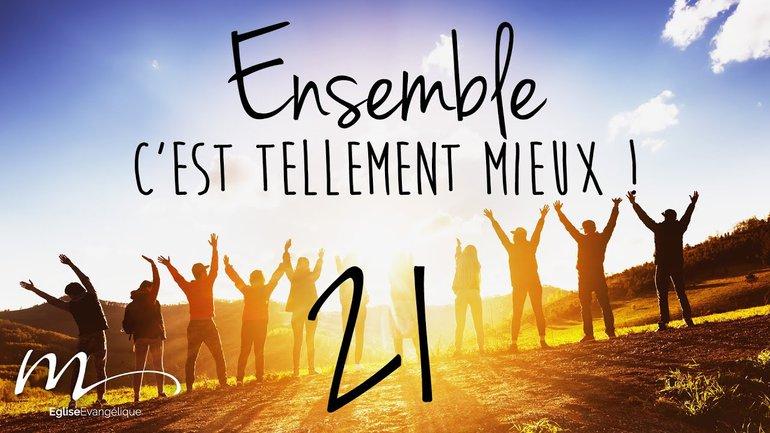 Ensemble Méditation 21 - 1 Corinthiens 9.16, 2 Corinthiens 5.18 et Romains 1.16 - Église M