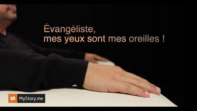 """L'histoire de Eric Egler : """"Évangéliste, mes yeux sont mes oreilles !"""""""