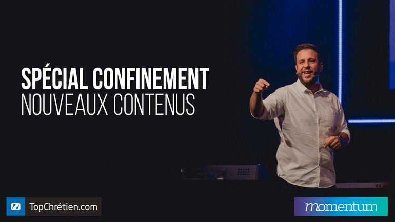 Confinés mais pas délaissés ! 💞 Momentum vous propose de tous nouveaux contenus 🔥