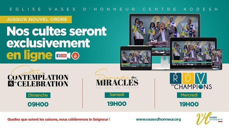 Ôte le veau d'or et jouis de l'alliance de bénédiction - Pasteur Mohammed SANOGO / 12-07-2020