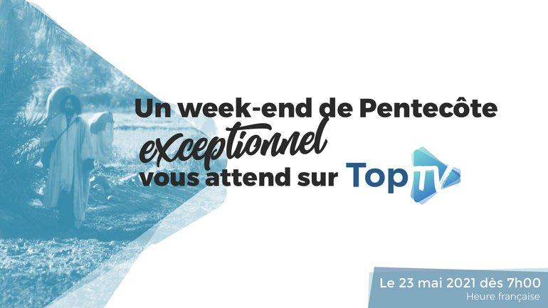 Un week-end de Pentecôte exceptionnel vous attend sur TopTV 📺