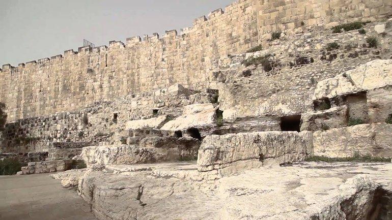 Les lieux historiques de la ville de Jérusalem