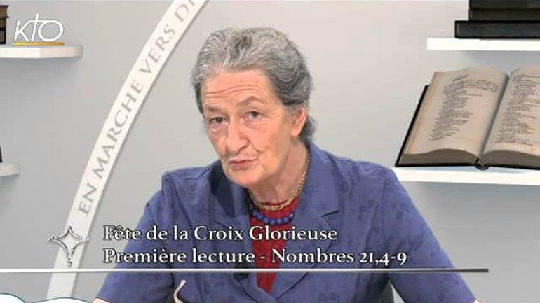 Marie-Noëlle Thabut -Fête de la Croix Glorieuse - 1ère lecture