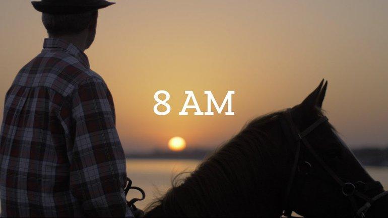 8AM - Claire & Luke Winton