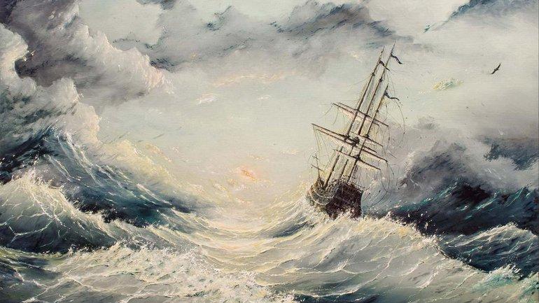 Dans la tempête