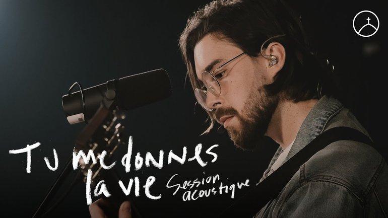 Tu me donnes la vie (session acoustique) - la Chapelle Musique & Philippe Joseph Bédard