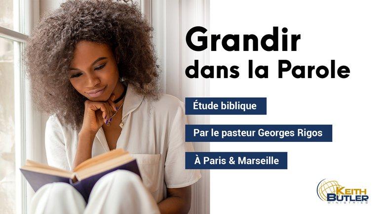 Grandissez dans la Parole avec les études bibliques KBM