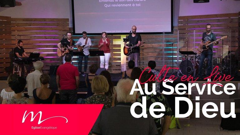 Au service de Dieu - Jacques Nicole - Culte du dimanche 16 Août 2020