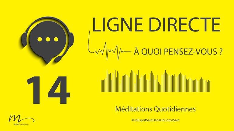 Ligne Directe Méditation 14 - Une affaire de régime - Jérémie Chamard