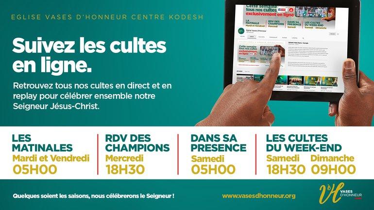 Change tes perceptions pour abréger tes épreuves | Pasteur Mohammed Sanogo | 2e Culte 03/05/2020