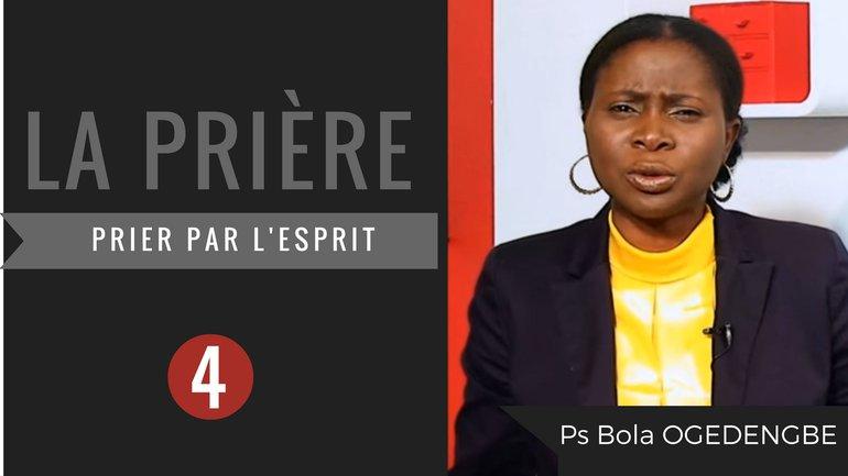 Olivia Bola Ogedengbe - La prière (4)