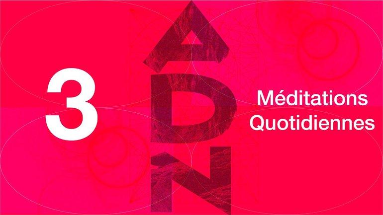 ADN Méditation 3 - Pas de favoritisme - Romains 2.11 & Jacques 2.1-4 - Jéma Taboyan