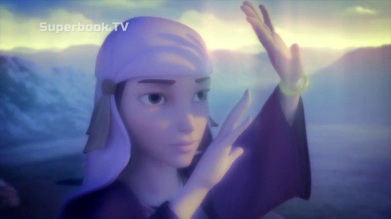 Rébécca parle d'Esaü et de Jacob