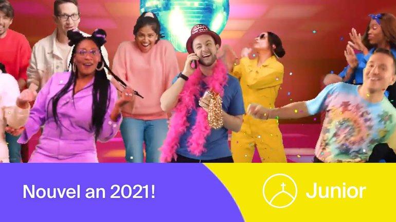 Nouvel an 2021 | La Chapelle Junior.
