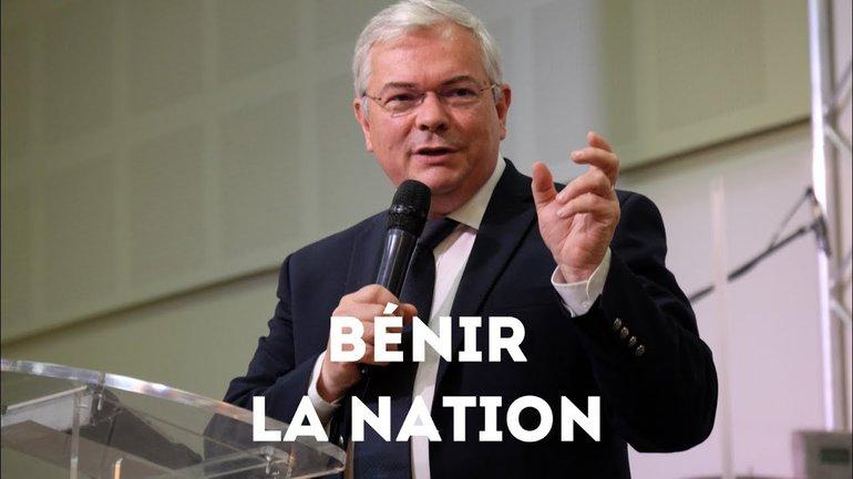 Bénir la nation - Thierry Le Gall