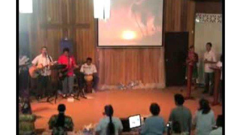 Eglise de la Bonne Nouvelle à Tahiti - J'élève ma voix