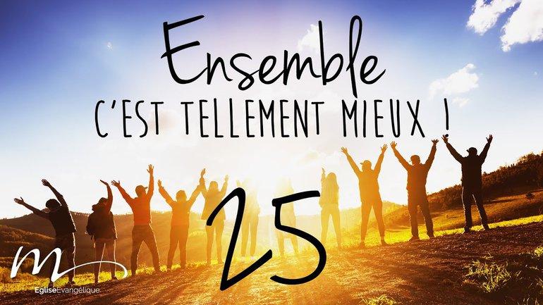 Ensemble Méditation 25 - Colossiens 3.23 - Église M