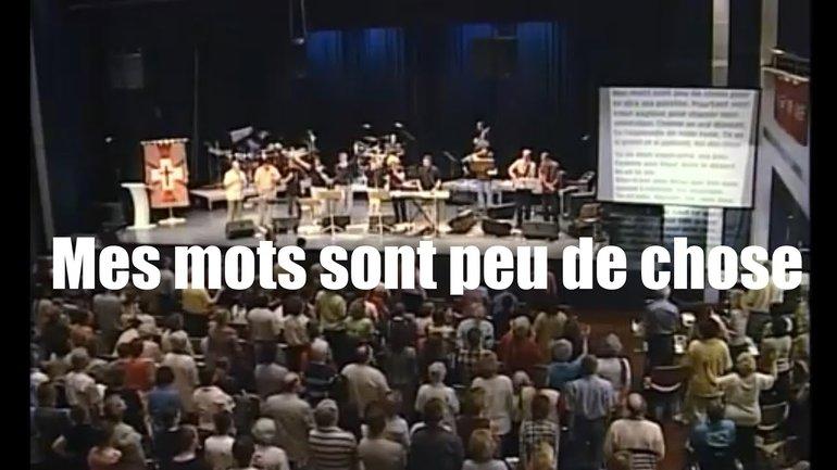 Mes mots sont peu de chose - Jem 792 - Louange vivante & Sylvain Freymond