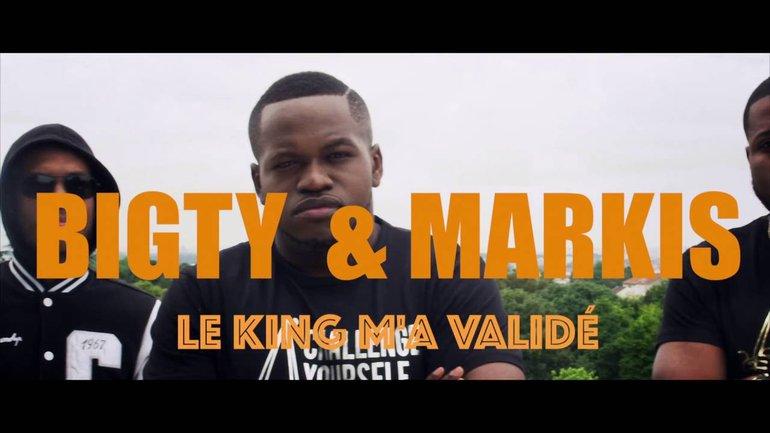 Bigty x Markis - Le King m'a validé (CLIP OFFICIEL)