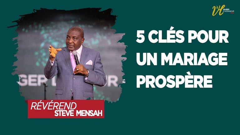 5 Clés pour un mariage prospère  I 3e culte du weekend l 14/02/2021