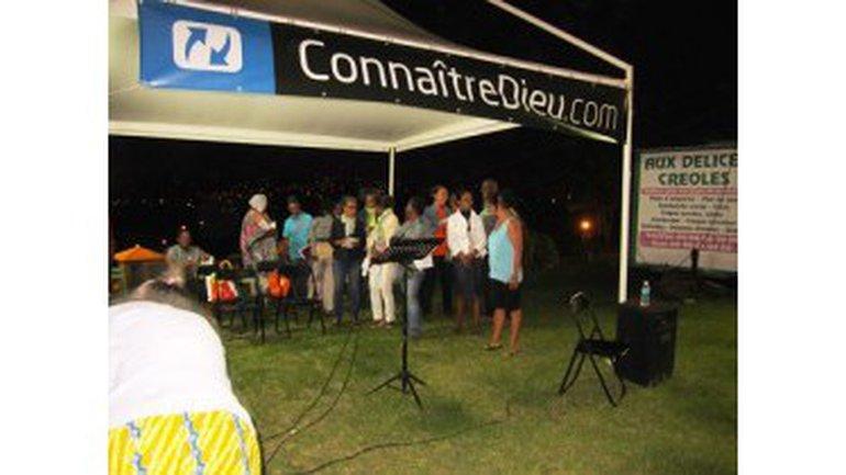 Évangélisation de plein air avec ConnaitreDieu.com en Martinique !
