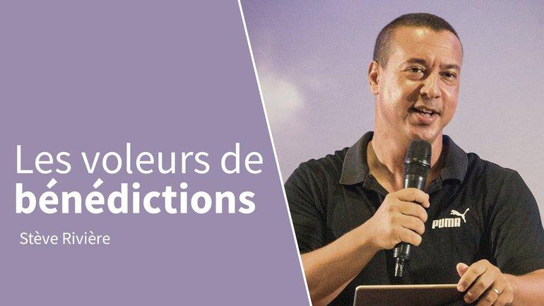 LES VOLEURS DE BÉNÉDICTIONS   Stève Rivière