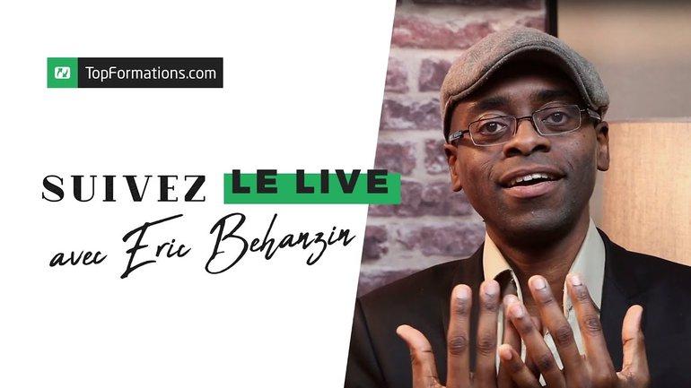 TopFormations LIVE : Nathalie accueille Éric Béhanzin