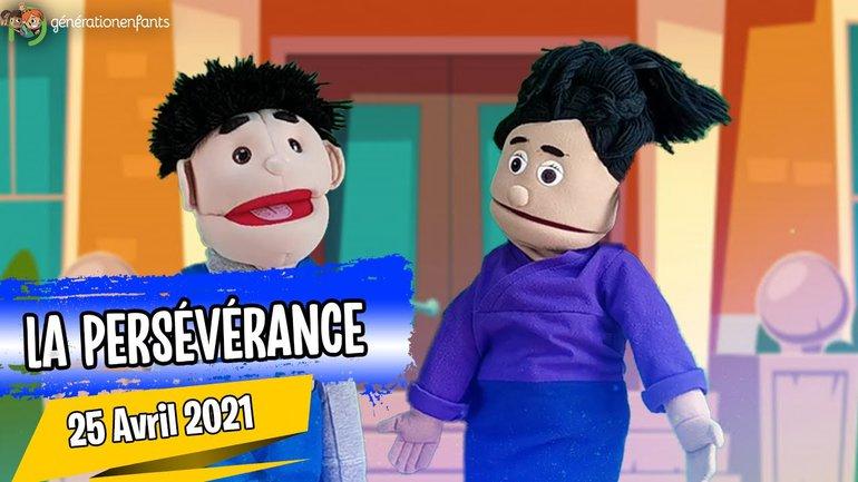 """Culte Génération Enfants du 25 avril 2021 """" La Persévérance"""""""
