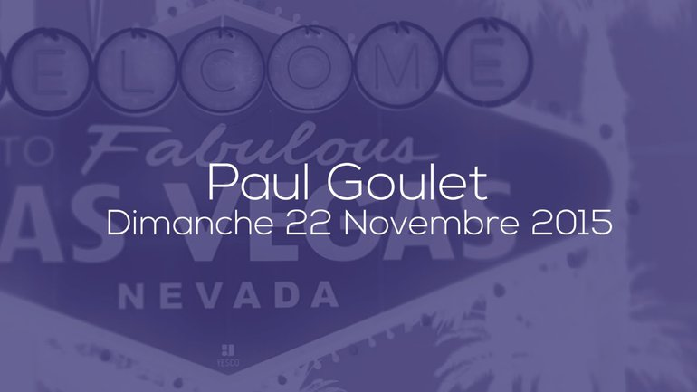 PAUL GOULET - LES PORTES OUVERTES - 22/11