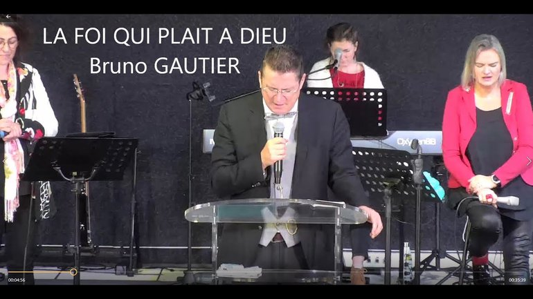 La Foi qui Plait à Dieu Bruno GAUTIER/MBMINISTERE
