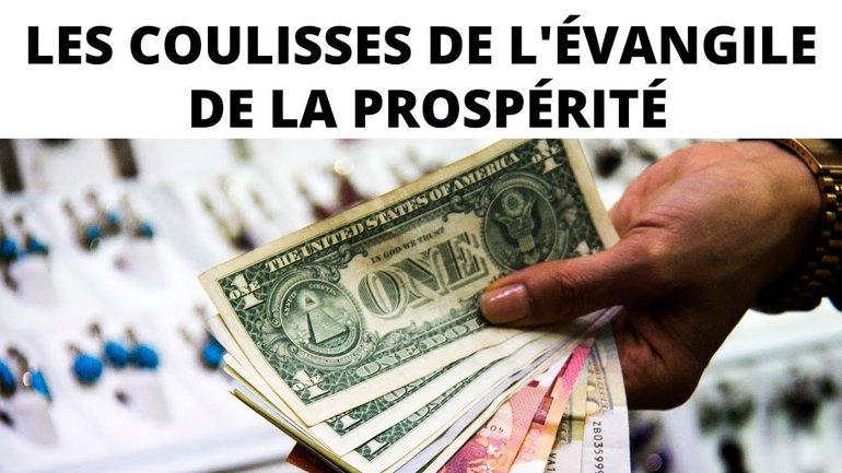 Attention, à l'évangile de la prospérité !