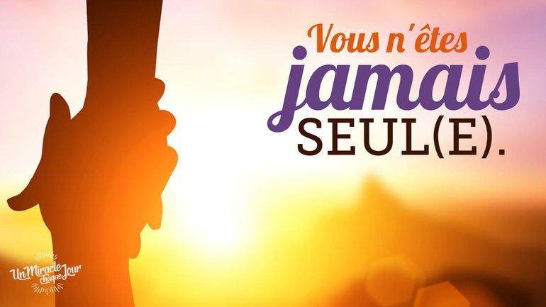 Dieu est pour vous et avec vous ! 💪