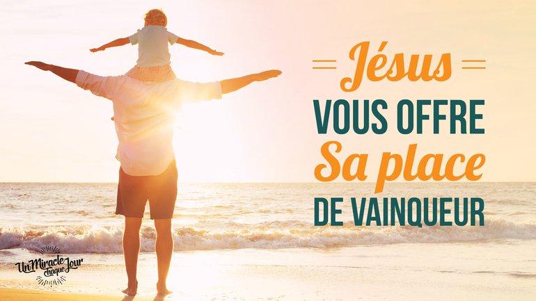 Jésus a pris votre place ! 🌏