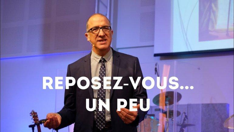 Reposez-vous... un peu - Pasteur Alain Aghedu