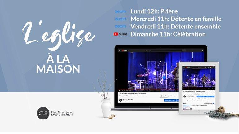 Eglise à la Maison - Célébration 29/03/2020