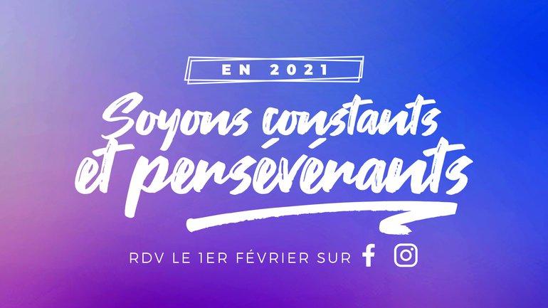 En 2021, soyons constants et persévérants ! 💪🏃♀️ 🏃