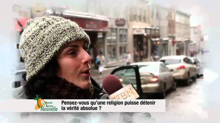 Pensez-vous qu'une religion puisse détenir la vérité absolue ?
