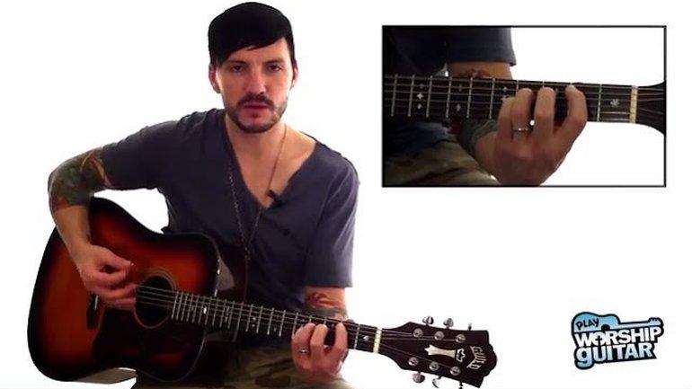 Ouvre les yeux de mon coeur - Paul Baloche - Tutoriel Guitare