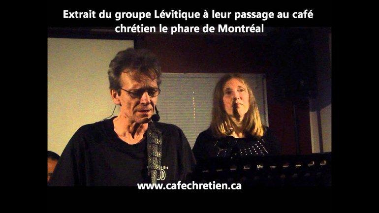 Groupe Lévitique au Café chrétien le Phare