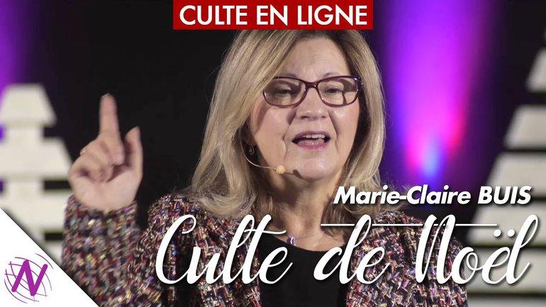 Culte de Noël par Marie-Claire Buis - à l'Église Novation