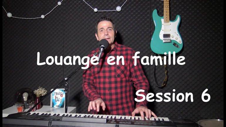 Louange pour les enfants et les familles avec Sylvain Freymond - Session 6