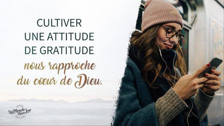 "Choisissez la ""gratitude-attitude"" 🙌"